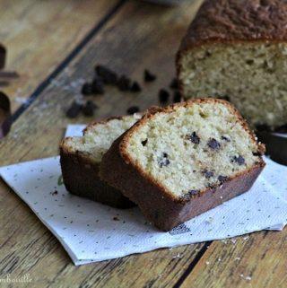 Cake à la noix de coco & pépites de chocolat