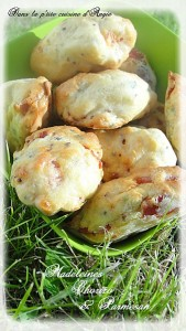 madeleines au chorizo et parmesan angie