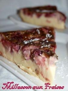 millasson aux fraises Christèle