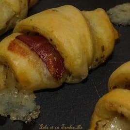 Croissants au pesto