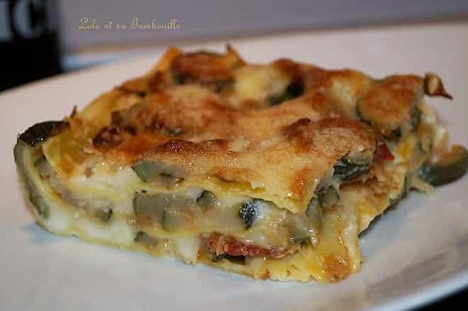 lasagnes aux courgettes
