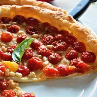 tarte fine aux tomates cerise