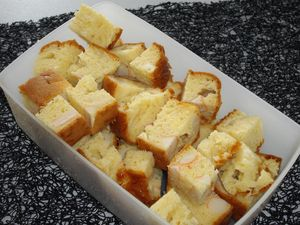 cake au chèvre et surimi jessica