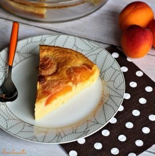 Clafoutis aux abricots vanille