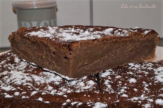 Fondant au chocolat praliné