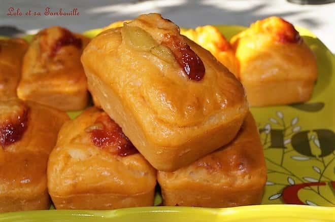 Mini cakes façon hot-dog