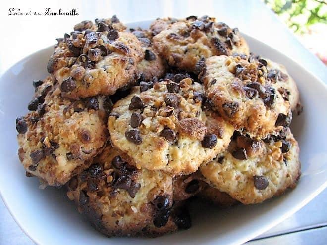 Cookies aux trois pépites