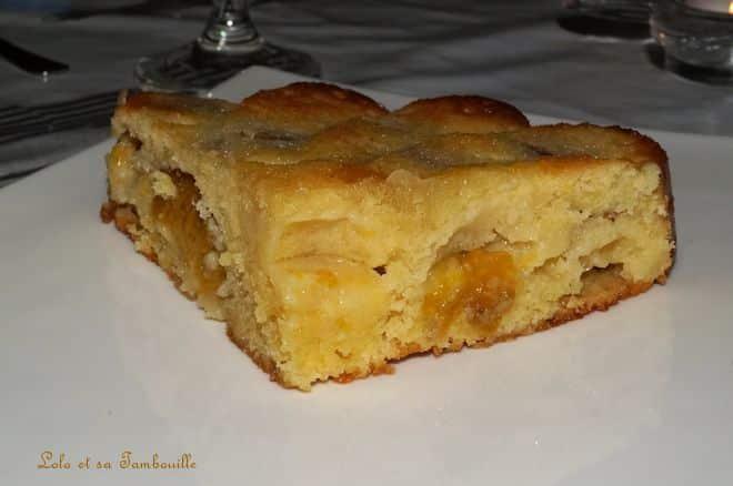 Gâteau aux prunes, amandes & son d'avoine