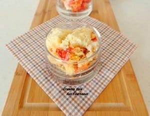 crumble-de tomate au miel et chèvre manuella