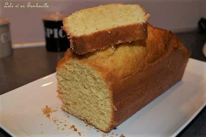 Cake à la fleur d'oranger
