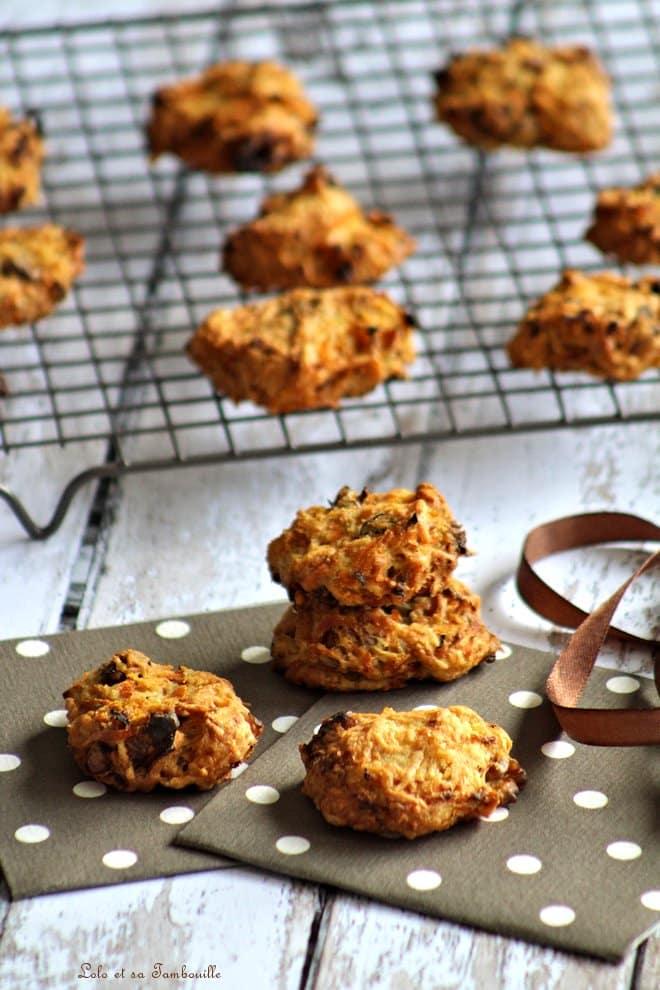 Cookies aux carottes & noix