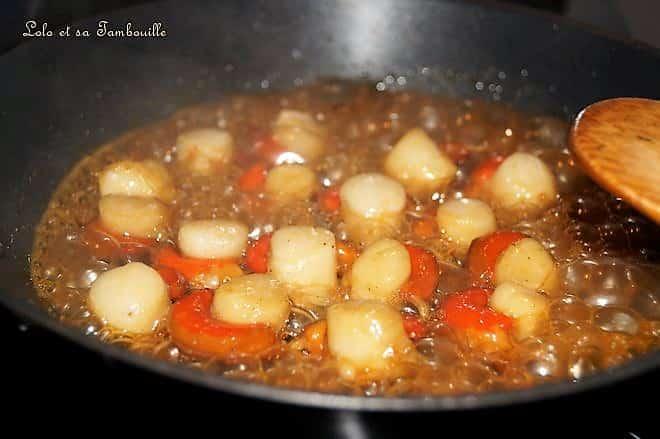 Saint Jacques au miel & fondue de poireaux