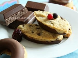 cookies sticks made in cooking