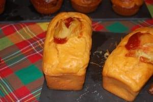 mini cakes façon hot dog alexandrine