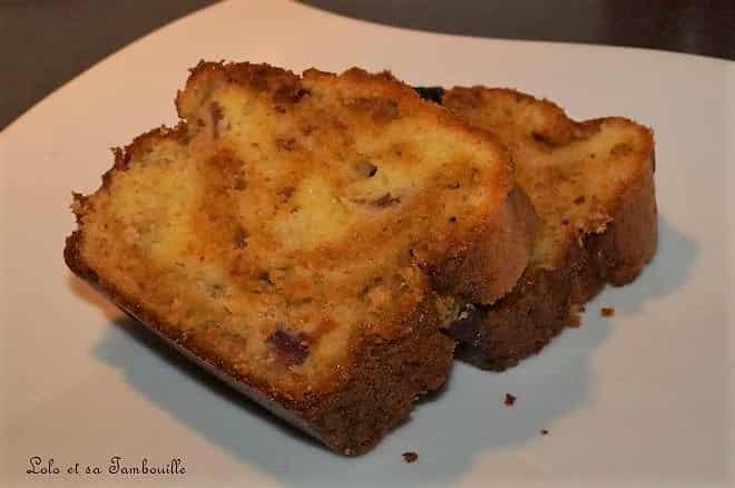 Cake marbré au pesto rosso