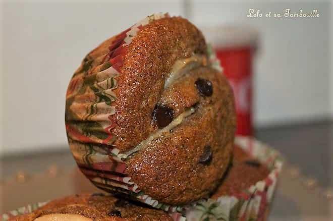 Muffins au son de blé