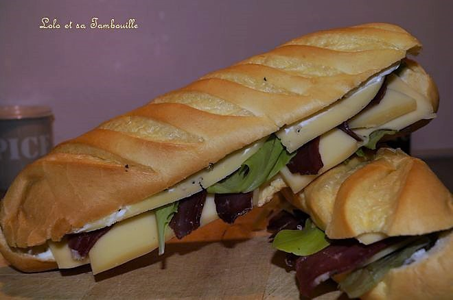 Sandwichs au morbier