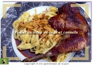 poulet_sirop de liège_cannelle Flaure