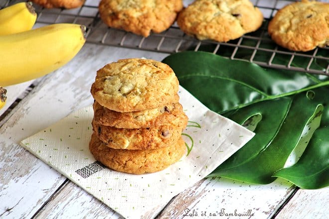 Cookies à la banane