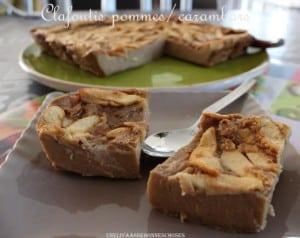 clafoutis aux pommes et carambars yas