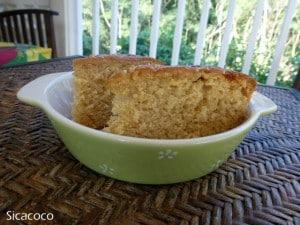 gâteau au citron et à l'huile d'olive sicacoco