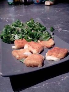 mozzarella panée Philippe