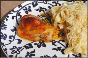poulet au sirop d'érable et à la cannelle afaurore
