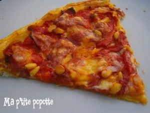 tarte fine aux tomate et tomme fraîche ma popotte