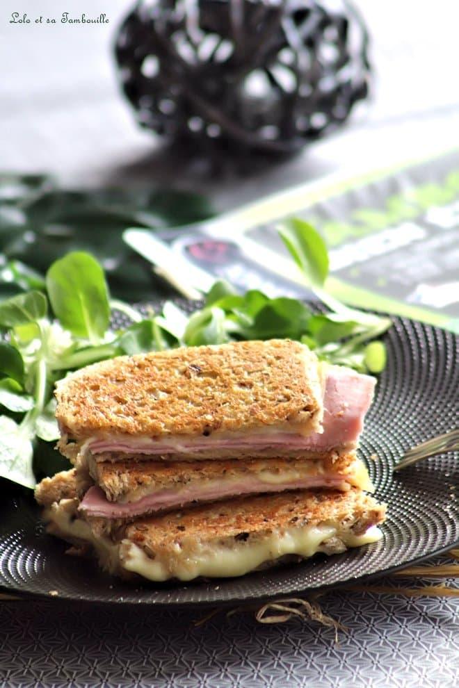 Croques monsieur au jambon & comté