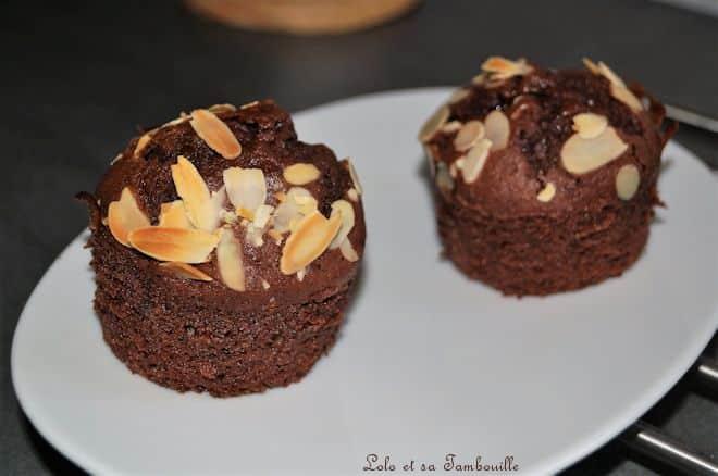 Muffins pomme & chocolat