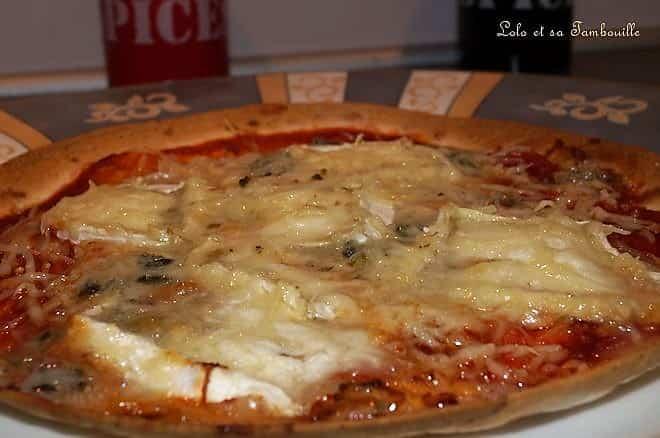 Pizza-tortilla