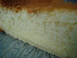 gâteau magique à la vanille christelle