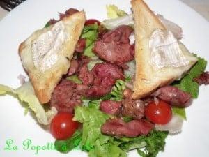 salade de chèvre chaud lolo