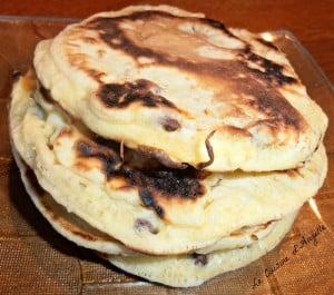 pancakes aux pépites de chocolat Angelle