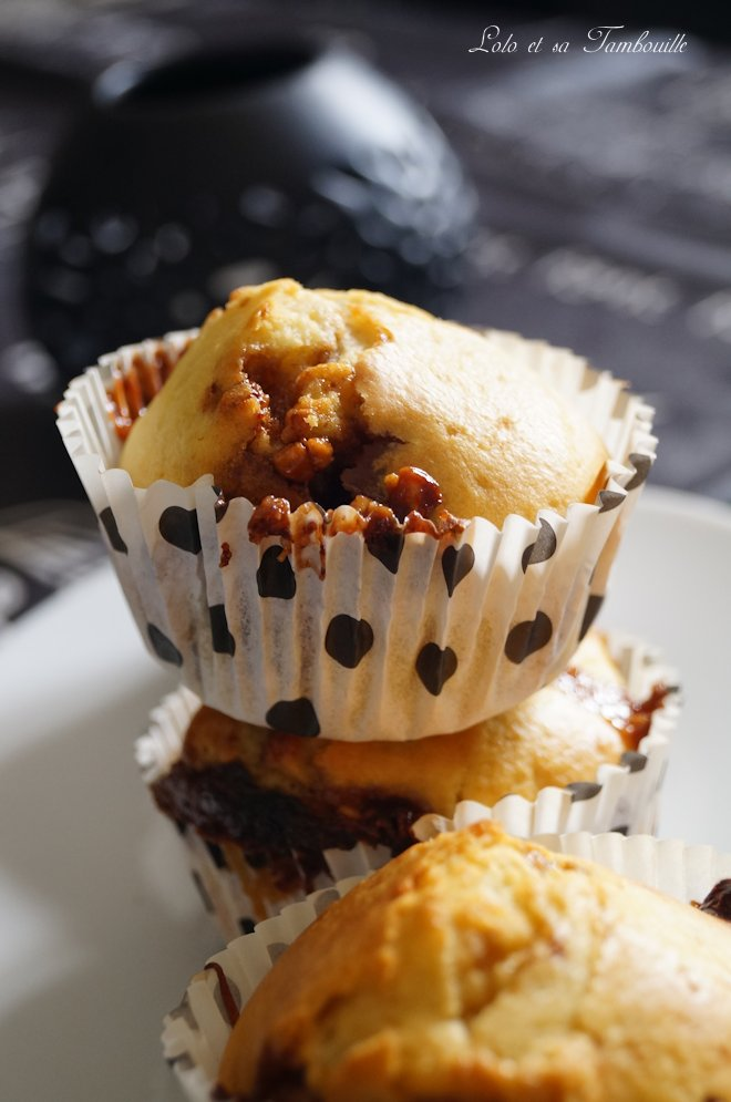 Muffins aux snickers