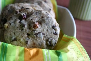 Cookie vanille choco noisettes Marie