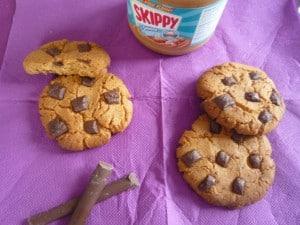 Cookies au beurre de cacahuètes Fatima