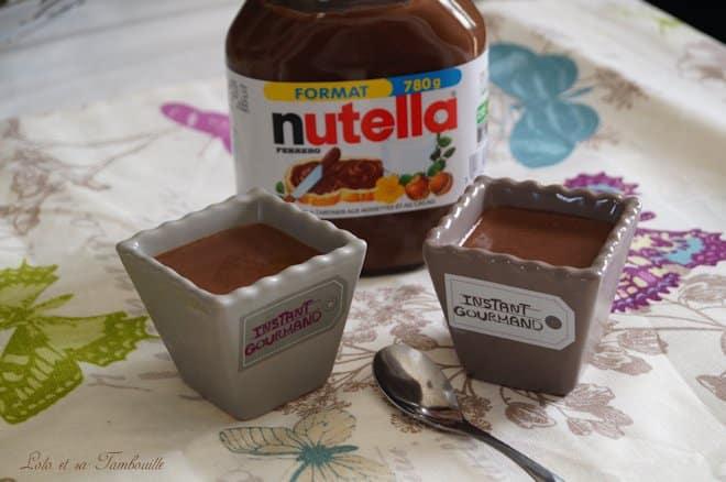 Crèmes au Nutella