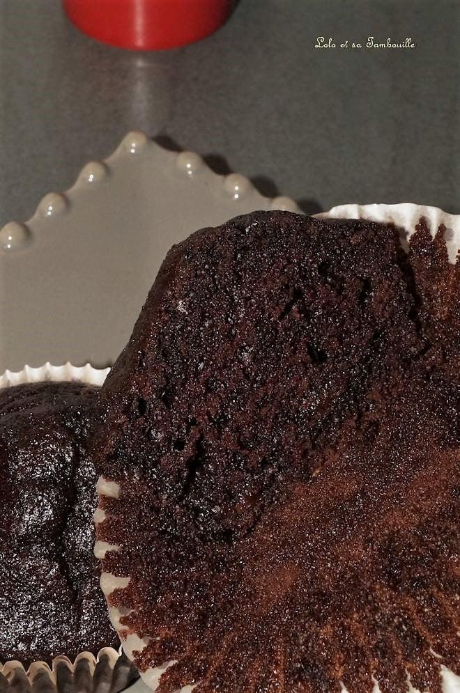 Muffins tout chocolat {comme ceux du McDo}