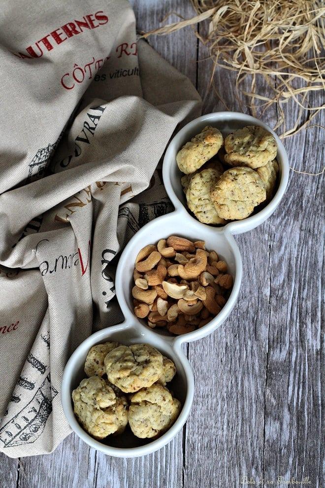 Biscuits sablés à la moutarde & aux 6 graines
