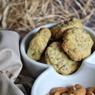 Biscuits sablés à la moutarde