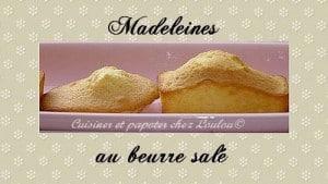 madeleines beurre salé loulou