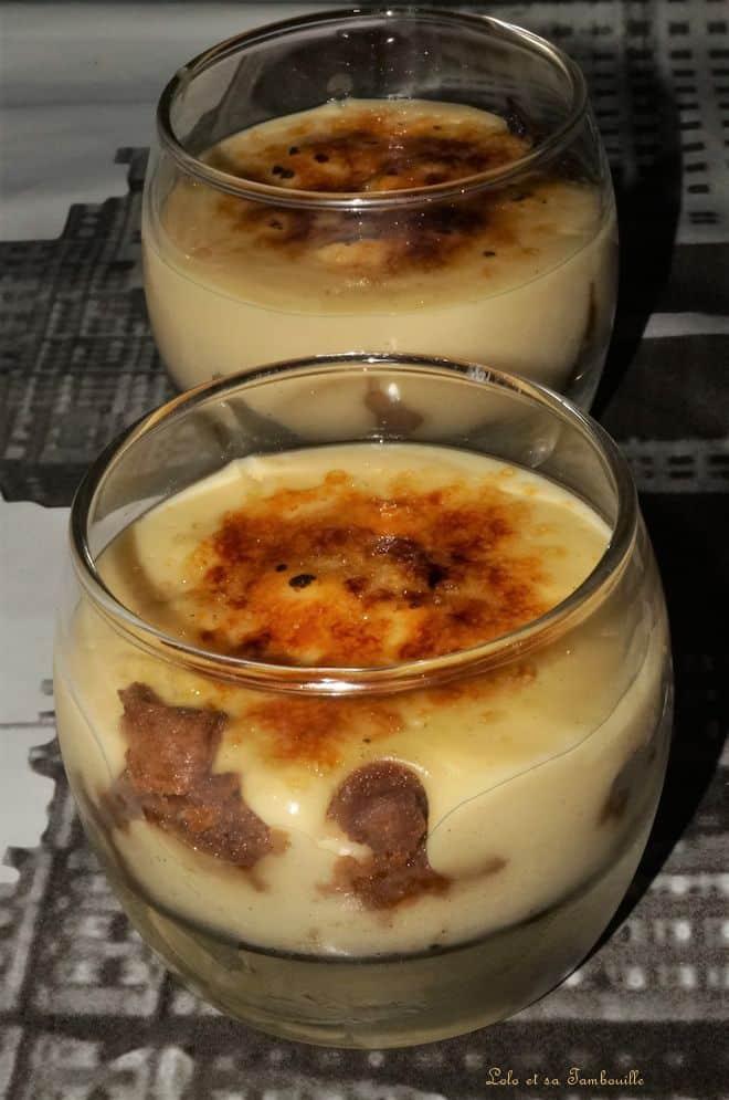 Crèmes catalanes aux spéculoos