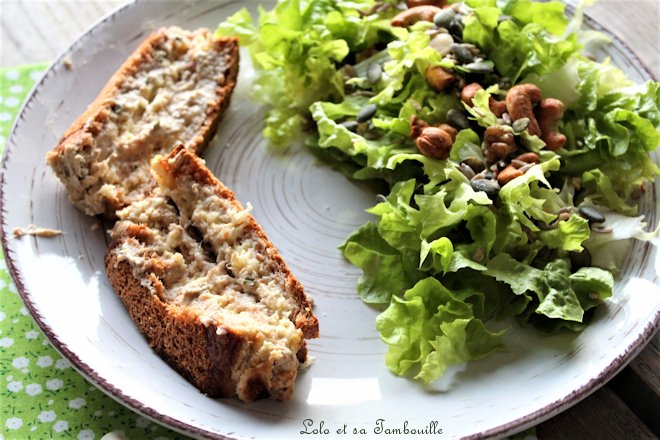 Croque-Cake au thon & philadelphia ciboulette