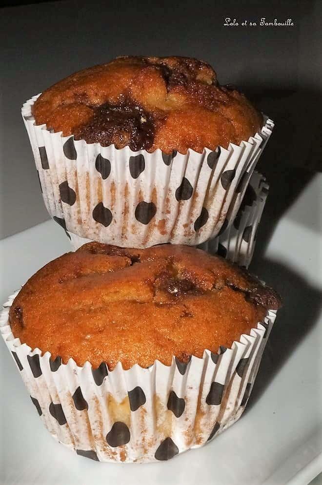 Muffins au Toblérone & lait ribot