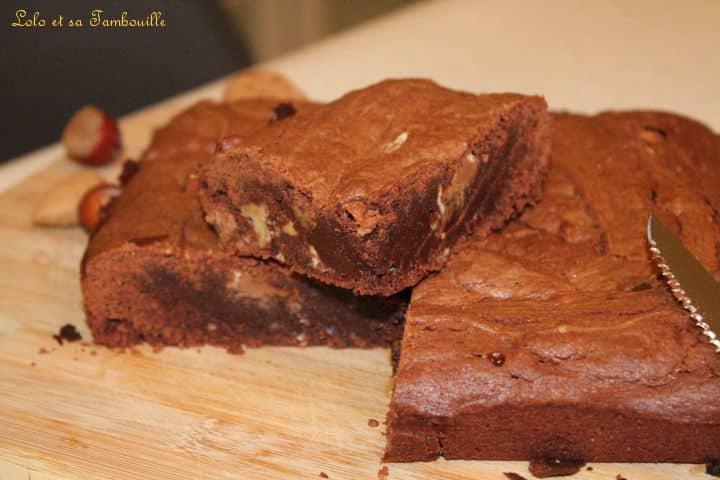 Brownies au chocolat {très moelleux}
