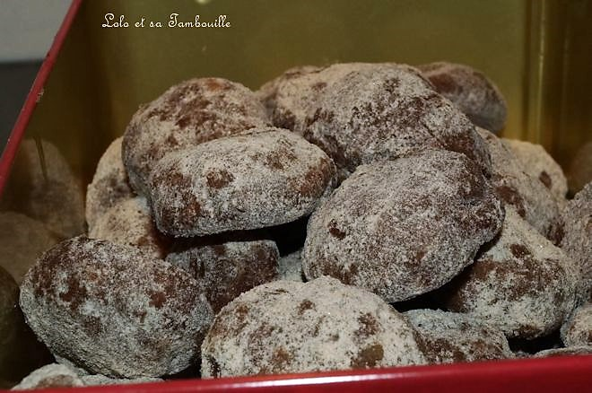 Boules choco-noisettes {cadeau gourmand}