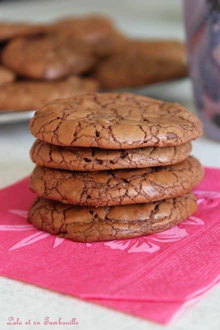 Cookies Brownies au chocolat