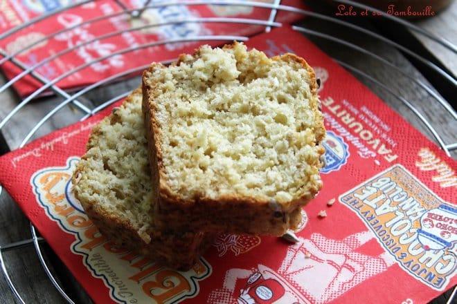 Pain magique au lait ribot {Buttermilk Quick Bread}