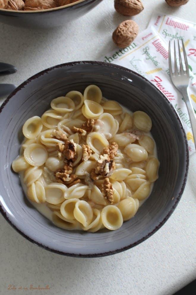 Sauce au gorgonzola & noix